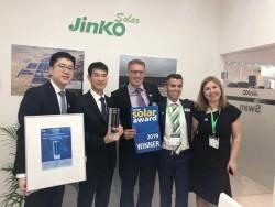 JinkoSolar vinh dự nhận giải thưởng Intersolar 2019