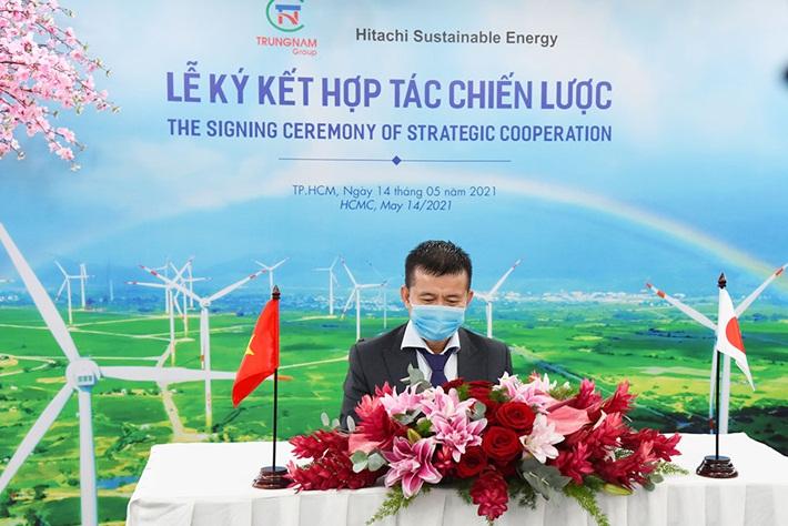 Các dự án năng lượng tái tạo của Trungnam Group có thêm nguồn vốn từ quốc tế