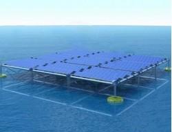 Khởi công mô hình thử nghiệm điện mặt trời trên biển tại Cà Mau