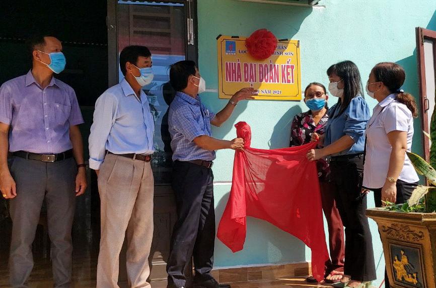 BSR bàn giao 10 nhà đại đoàn kết tại Quảng Nam