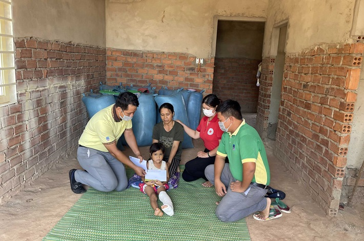 PVFCCo Central hỗ trợ nạn nhân vụ sập tường lò gạch tại Đắk Lắk