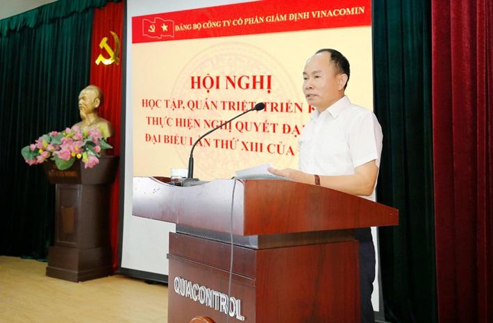 Đảng bộ Quacontrol đẩy mạnh và làm theo tư tưởng, đạo đức, phong cách Hồ Chí Minh