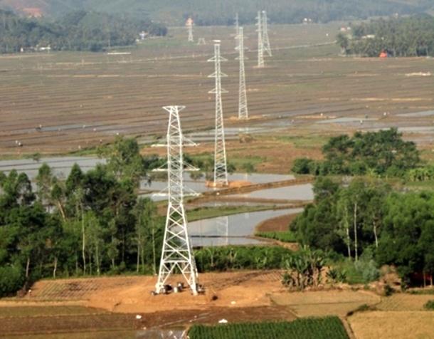 Cắt điện đường dây 110 kV Vĩnh Sơn - Hoài Nhơn phục vụ thi công
