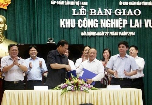 PVN bàn giao Khu công nghiệp Lai Vu về Hải Dương