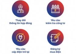 Dễ dàng đăng ký các dịch vụ điện với App EVNHANOI