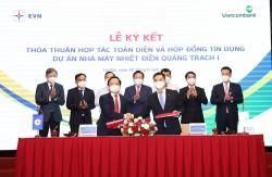 Ký hợp đồng tín dụng dự án Nhiệt điện Quảng Trạch 1