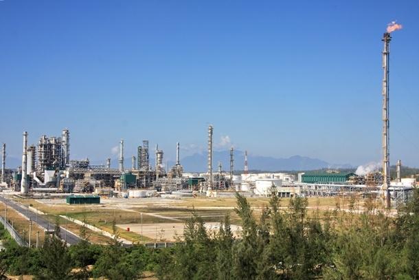Nhà máy lọc dầu Dung Quất đã vận hành 100% công suất