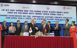 Ký hợp đồng vay vốn cho dự án Nhà máy Nhiệt điện Vĩnh Tân 4