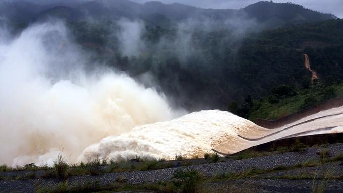 Các hồ thủy điện miền Trung góp phần giảm lũ cho vùng hạ lưu
