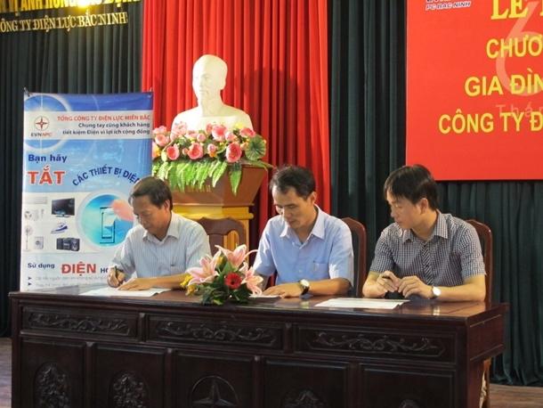 """PC Bắc Ninh phát động Chương trình """"Gia đình tiết kiệm điện 2014"""""""
