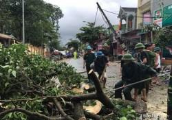 Công điện khắc phục hậu quả bão số 2
