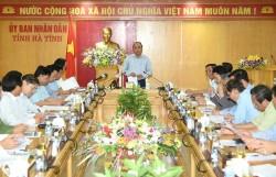 Thủ tướng làm việc với Công ty Formosa Hưng nghiệp Hà Tĩnh