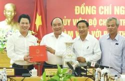 Thủ tướng làm việc với lãnh đạo tỉnh Hà Tĩnh