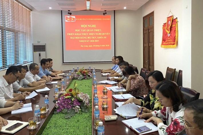 Quacontrol triển khai Nghị quyết Đại hội Đảng bộ Than Quảng Ninh, Nghị quyết Đại hội Đảng bộ TKV
