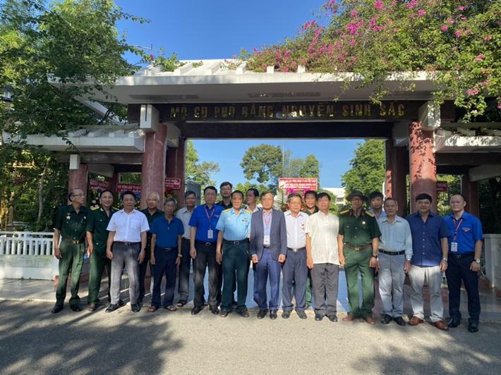 Hội Cựu chiến binh PV GAS tổ chức chương trình 'về nguồn' tại Đồng Tháp
