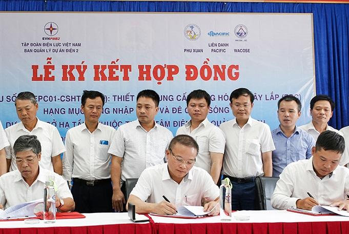Ký hợp đồng EPC cảng than và đê chắn sóng dự án Trung tâm Điện lực Quảng Trạch