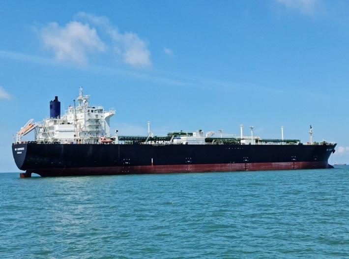 PVTrans tiếp nhận tàu chở khí hóa lỏng lạnh loại VLGC đầu tiên