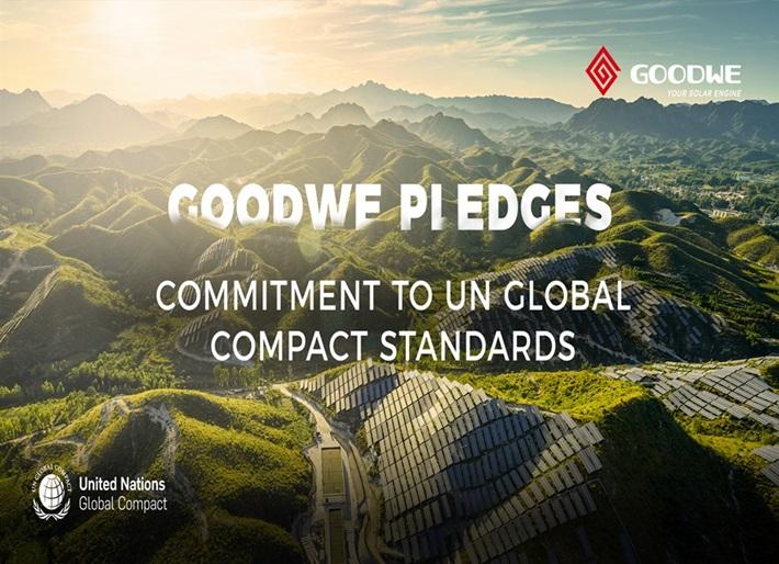 GoodWe tham gia Hiệp ước Toàn cầu Liên Hợp quốc
