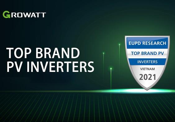 Growatt được EUPD trao giải 'Thương hiệu biến tần PV hàng đầu' tại Việt Nam