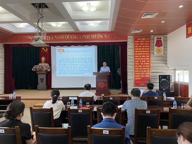 Đảng bộ Quacontrol học tập và làm theo tư tưởng, đạo đức phong cách Hồ Chí Minh