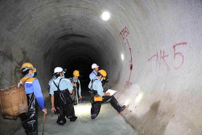 Hoàn thành đường hầm dẫn nước dự án mở rộng Thủy điện Đa Nhim vượt tiến độ
