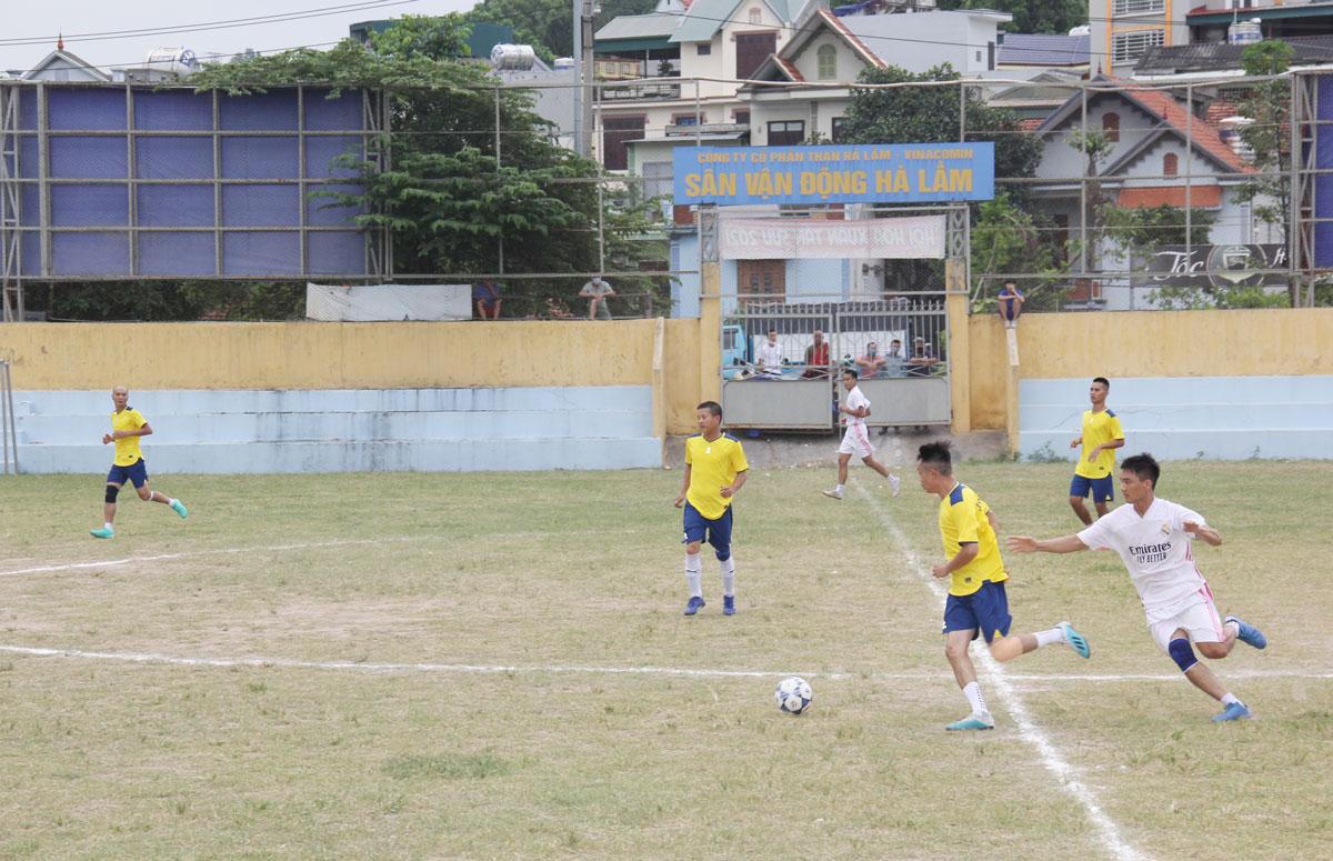 Than Hà Lầm khai mạc Giải bóng đá phong trào CNVCLĐ năm 2021