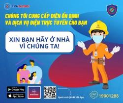 EVNHANOI khuyến nghị khách hàng sử dụng dịch vụ điện trực tuyến