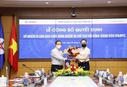 Công bố quyết định bổ nhiệm và bàn giao chức năng nhiệm vụ Chủ tịch HĐTV EVNNPC