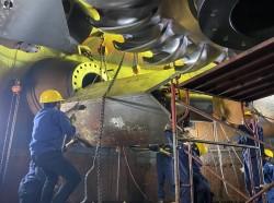 Thủy điện Đại Ninh hoàn thành vượt mức tiến độ đại tu tổ máy H2