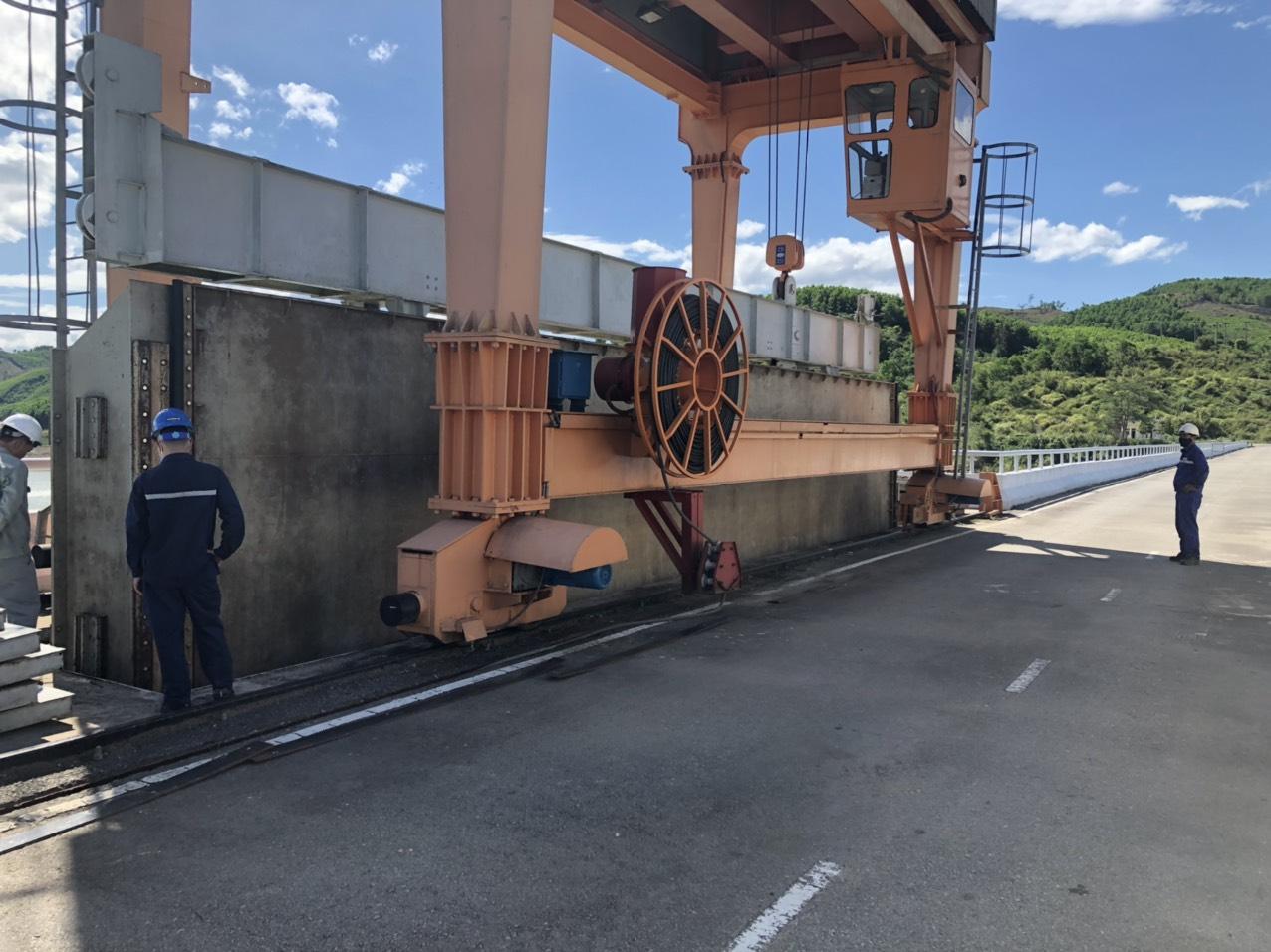 Thủy điện Sông Tranh diễn tập ứng phó thiên tai năm 2021