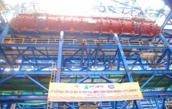 Lắp đặt thành công bao hơi số 1B Nhà máy nhiệt điện Mông Dương 1