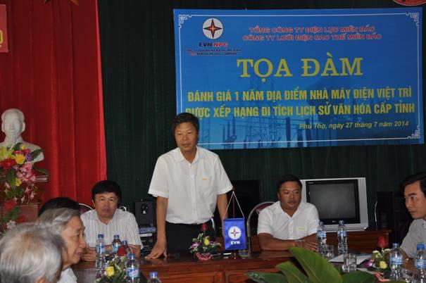 Tọa đàm 1 năm Nhà máy điện Việt Trì xếp hạng di tích lịch sử