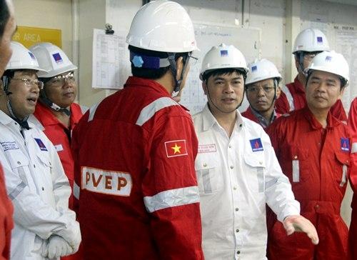Chủ tịch HĐTV PVN làm việc với các đơn vị thành viên phía Nam