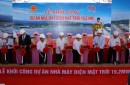 Groundbreaking a 19.2MW Solar Power Project in Quang Ngai province