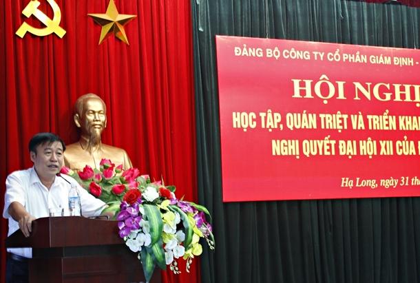 Quacontrol triển khai Nghị quyết Đại hội XII của Đảng