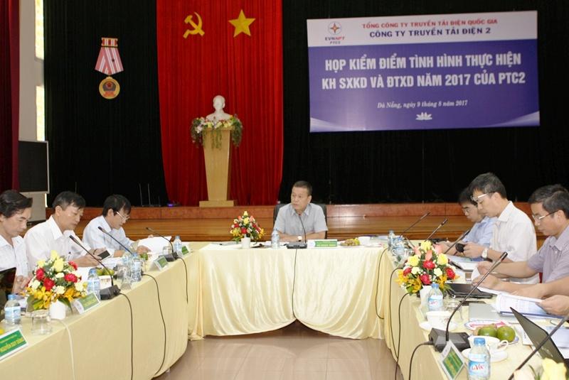 Tổng giám đốc NPT làm việc với Công ty Truyền tải điện 2
