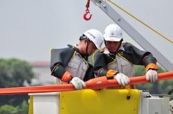 Sát hạch tay nghề công nhân sửa chữa điện nóng Thủ đô
