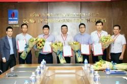 Công bố quyết định bổ nhiệm cán bộ quản lý Công ty Kinh doanh sản phẩm Khí