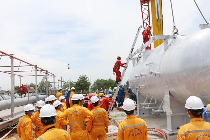 Cải hoán Nhà máy Xử lý khí Dinh Cố để tiếp nhận khí Nam Côn Sơn 2