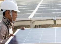 Cập nhật tiến độ xây dựng dự án Nhà máy điện mặt trời Thác Mơ