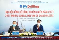 PV Drilling tổ chức Đại hội đồng cổ đông thường niên trực tuyến năm 2021