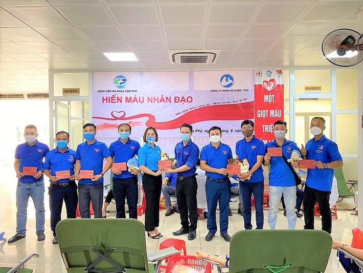 Than Hạ Long tổ chức hiến máu tình nguyện, chung tay chống dịch Covid-19