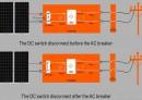 Một số giải pháp an toàn khi bật, tắt nguồn biến tần nhà máy PV