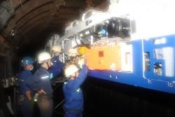 Than Dương Huy: Hiện đại hóa công tác vận tải trong hầm lò