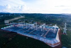 Hệ thống truyền tải đã sẵn sàng cho dự án điện gió lớn nhất Việt Nam
