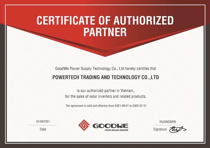 Powertech trở thành đối tác chiến lược của GoodWe tại Việt Nam