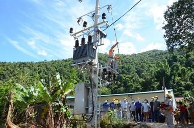 Thêm 2 bản vùng sâu của Lai Châu có điện lưới quốc gia