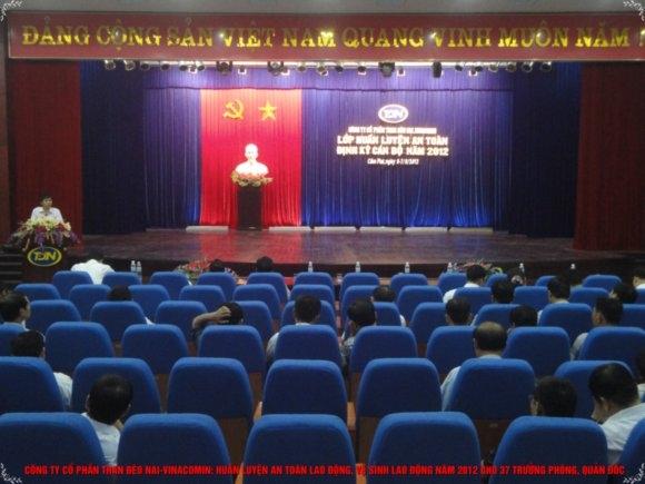 Than Đèo Nai tổ chức huấn luyện an toàn vệ sinh lao động