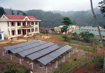 Thúc đẩy phát triển năng lượng mặt trời tại Việt Nam
