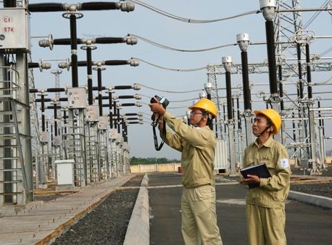 Đóng điện công trình nâng công suất TBA 500kV Thường Tín